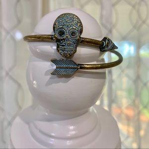 Sugar Skull Adjustable Bracelet